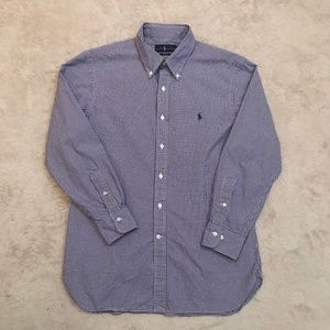 Ralph Lauren men's purple dress shirt